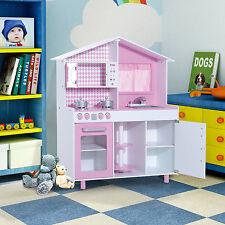 Luxury Bambini Bambino Funzionale pretent Cucina Bambini Playset gioco di ruolo in MDF