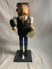 """RARE 2007 Target 14.5"""" Limited edition NUTCRACKER MOTORCYCLE RIDER"""