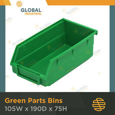 24 x Green Plastic Spare Parts Bins Storage Containers SO0203