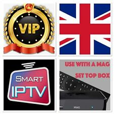 SMART IPTV 12 MONTHS UK SUBSCRIPTION