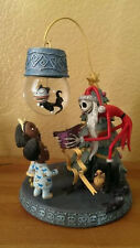 NIGHTMARE BEFORE CHRISTMAS SNOWGLOBE ORNAMENT W/ STAND