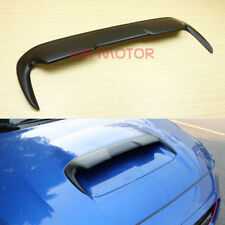 Front Hood Scoop Vent Spoiler Matt Black FOR SUBARU WRX STI 4th Levorg 2015-2019