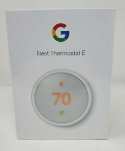 Google Nest Thermostat E T4000ES  (White)