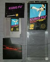 Kung Fu (Nintendo Entertainment System, 1985) NES Box Game Manual Case