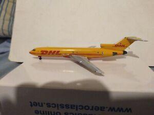 "*******RARE*******AeroClassics 1/400 DHL ""YELLOW LIVERY"" BOEING 727-2B7F N770AT"