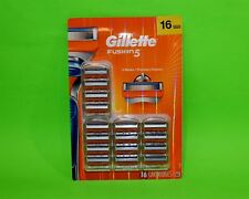 Gillette Fusion5 16 Cartridge Mens 5 Razor Blades Refills Fits Regular & POWER