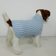PRINTED KNITTING INSTRUCTIONS - SIMPLE FISHERMANS RIB DOG COAT KNITTING PATTERN