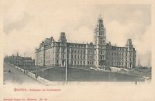 QUEBEC QC – Batisses du Parlement Houses of Parliament – udb (pre 1908)