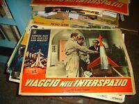 Viaje en el Espacio Ultraterrestre Fotobusta Original 1959 Duff Bartok Tipo A