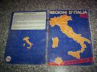 ALBUM REGIONI D'ITALIA FLASH 1981 COMPLETO BUONO NO CALCIATORI PANINI EDIS LAMPO