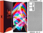 Skinomi Silver Carbon Fiber Skin Cover for Samsung Note 20 Ultra [6.9 inch]