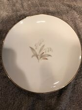 """3 Vintage Kaysons Fine China 1961 Golden Rhapsody 6 3/8"""" Butter Plate Made Japan"""