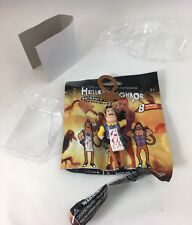 Hello Neighbor Hanger Collectibles Mini Figures Backpack Clip Butcher Cleaver