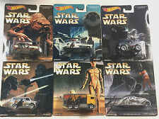 HOT WHEELS 2016 POP CULTURE STAR WARS SET OF 6