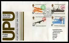 Great Britain - Sc #720 to 723 -1974 Upu Centenary - Official First Day Cover
