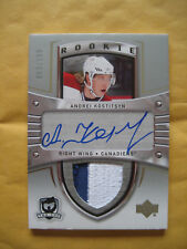 2005-06 05-06 The Cup Andre Kostitsyn RC Rookie Auto Patch #143 /199 2 Colour