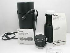 Vivitar 75-205mm Tele-zoom Lens, 2x Matched Teleconverter/Multiplier for Nikon