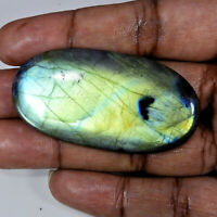 116Cts. Natural Multi Flash Labradorite Oval Cabochon Loose Gemstone r090