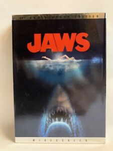 JAWS rare US 30th Anniversary 2 disc DVD  and Photo Journal Book BOX SET  R1