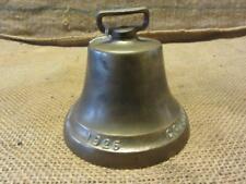 Vintage Ornate Brass Bell > Antique Old Iron Door Bells 7676