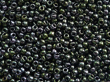 TOHO Perline 2,2mm 11/0 metallico grigio verde ibrido 10g TOHO 2,2mm Code: 89