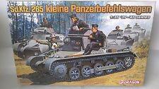 KIT DRAGON 1:35 TOW TRUCK REINFORCED Sd.kfz.265 kleine Panzerbefehlswagen