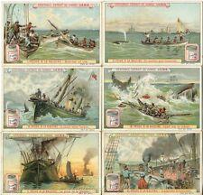 Chromo Liebig Sang. 545 BEL Caccia alla Balena ANNO 1898