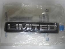 2001 Ford Explorer Limited Nameplate Emblem Script NOS 1L2Z-7842528-MA