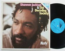 Shannon Jackson & the Decoding Society Nasty Moers no Wave/FREE Radio LP NM