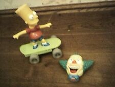 TALKING BART SIMPSON RADIO CONTROLLED SKATEBOARD ACTION FIGURE BOXED