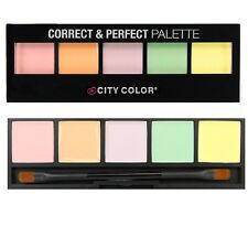 City Color Correct & Perfect, 5 shade Multi-Tone Concealer Palette.