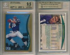 Peyton Manning COLTS 1998 Topps Chrome Football #165 Rookie Card Rc BGS 9.5 Gem