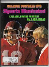 A Sports Illustrated Magazine ~ September 11 1978 ~ Lou Holtz Arkansas Football