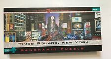 Times Square New York Panoramic Puzzle by Buffalo Games COMPLETE