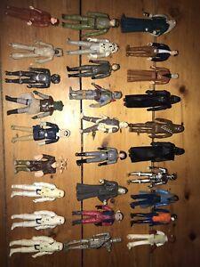 Instant Collection-Vintage Star Wars Figures Job Lot Bundle, Used.