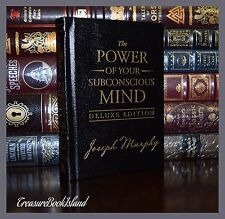 Power of Your Subconscious Mind by Joseph Murphy New Sealed Deluxe Leather Bound