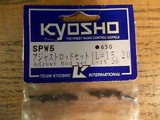 SPW-5 Adjustable Rod Set - Kyosho Pure Ten GP-10 Nostalgic TF-2 TF-3 Spider