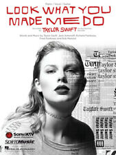 Taylor Swift - Look What You Made Me Do Piano/Vocal/Guitar Sheet Music