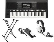 Yamaha S Series PSR-S770 61-Key Arranger Workstation Keyboard Bundle