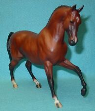 """BREYER TRADITIONAL GORGEOUS RED BAY """"FLIM FLAM"""" ROEMER #1204 VGC 03-04"""