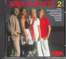 ABBA - The Hits . 2 CD Album 14TR (PICKWICK) UK 1988