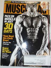 Musclemag Magazine Larry Vinette & Super Stacks For Mass December 2013 121614R2