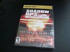 Shadow Ops Red Mercury BONUS DVD Atari launch promo NEW rare