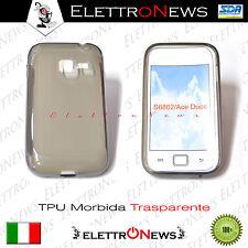 Tpu nero/trasparente Samsung Galaxy S6802 Ace Duos