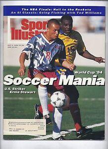1994 Sports Illustrated Magazine July 4th Ernie Stewart US Soccer