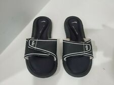 Nike Womens Black Slide Sandals Size 7 M