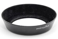 Genuine/Original Minolta MC 35mm f2.8 1:2.8 Wide Angle Metal Lens Hood, 55mm Fit