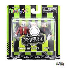 Beetlejuice Movie Minimates TRU Toys R Us Wave 1 Tuxedo Beetlejuice & Otho