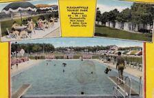 Postcard Pleasantville Tourist Park Atlantic City Nj
