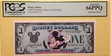 1989D $1 Mickey Disney Dollar, Graded By PCGS Gem New 66PPQ, D00901116A